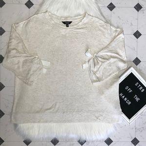 NWT Simply Vera Vera Wang cream sweatshirt XL, XXL